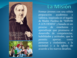 La Misión - WordPress.com