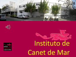 Institut de Canet - Institut Lluís Domènech i Montaner