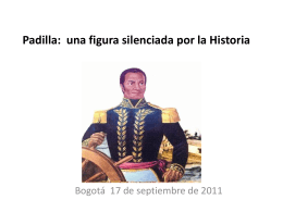 El almirante Padilla: una figura silenciada por la Historia
