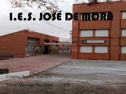I.E.S. JOSÉ DE MORA
