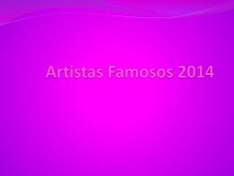 Artistas Famosos 2014 - jocelyncf-1b