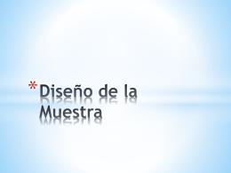 Diseño de la Muestra EXPO