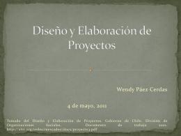 Diseño y Elaboración de Proyectos