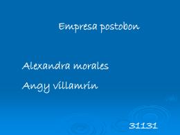 compañía postobon s.a