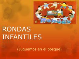 RONDAS INFANTILES
