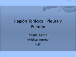 Región Torácica , Pleura y Pulmon