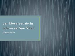 19 Mosaicos San Vital