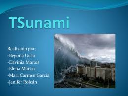 TSunami. presentación