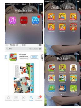 apps para niños en alemán