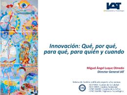 Presentación. - Instituto Internacional San Telmo