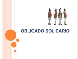 obligado solidario obligación solidaria