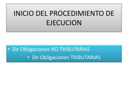 Obligación No Tributaria