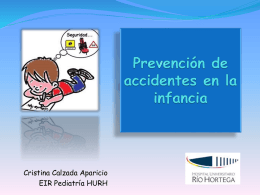 Prevención de accidentes en la infancia