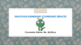 Seagoville elementary counseling services