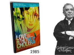 Análisis literario Amor en los tiempos del cólera