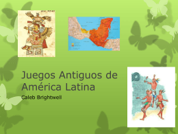 Juegos Antiguos de América Latina
