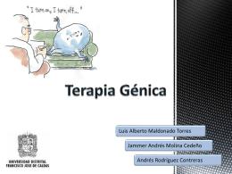 Terapia Génica - Marco Regalia