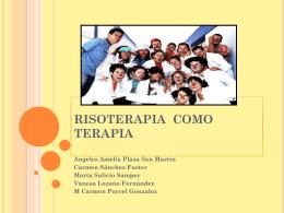 RISOTERAPIA COMO TERAPIA