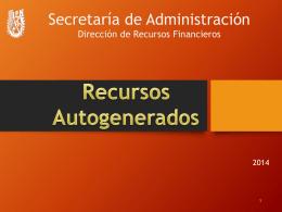 RECURSOS AUTOGENERADOS - Instituto Politécnico Nacional