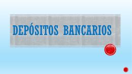 DEPÓSITOS BANCARIOS - Colegio Cooperativa San Saturio