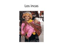 Los incas - srachavez