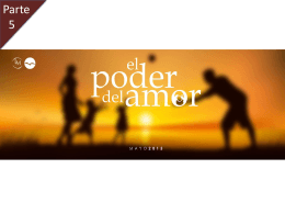 El Poder del amor 5 – Power Point