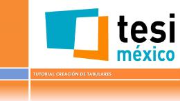 Tutorial BarbWin: Creación de tabulares