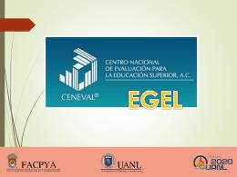 EGEL Instructivo para Presentar Examen