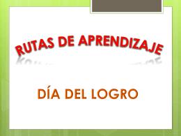 DÍA DE LOGRO