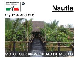 Diapositiva 1 - Moto Tour BMW Ciudad de México AC