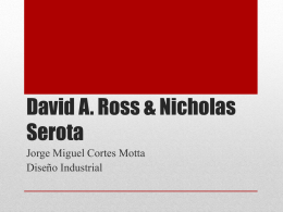 David A. Ross - WordPress.com