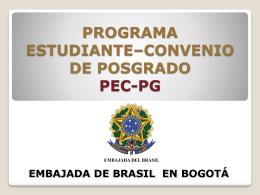 ESTUDIOS EN BRASIL