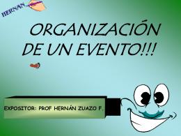Organizacion de eventos 1