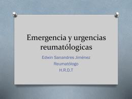 URGENCIA REUMATOLOGICA