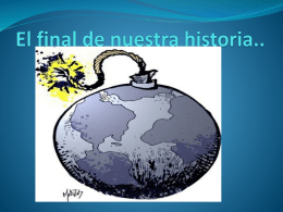 cuneto EL FIN DEL MUNDO