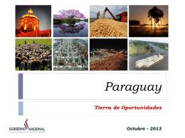 Paraguay, tierra de oportunidades