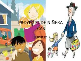 PROYECTO DE NIÑERA CAS
