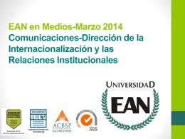 EAN en Medios-Marzo 2014