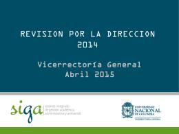 Presentación de PowerPoint - Universidad Nacional de Colombia