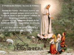 3ª Profecia de Fátima