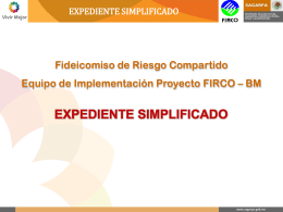 Expediente Simplificado