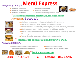 Menú SantyExpress.ppt+
