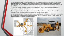 MAQUINARIA PESADA - Técnicas en la Construcción