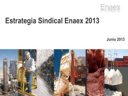 Estrategia Sindical Enaex 2013