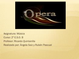 LA OPERA - Thevemusic