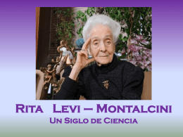 Rita Levi-Montalcini Presentación