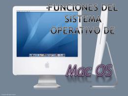 Funciones del sistema operativo de Mac OS - informatica-tres