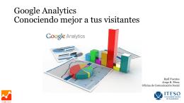 Google Analytics Conociendo mejor a tus visitantes