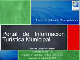 Portal de Información Turística Comunal