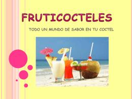 fruticocteles diapositivas